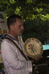 Raúl Pesqueira Fariña premio lingua de ouro - Taller Fariña Xoias