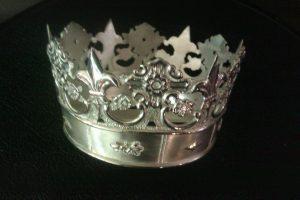 Coroa en prata de lei para o Mosteiro de Poio