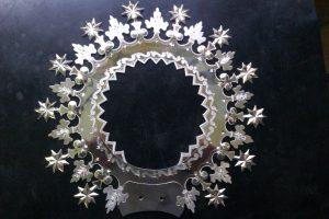 Aureola en prata de lei para o Mosteiro de Poio