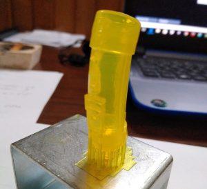 Bolsa de golf impresión 3D en resina para microfundido